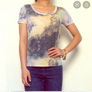 BDG Urban Outfitters Galaxy t-shirt EUC lowest!